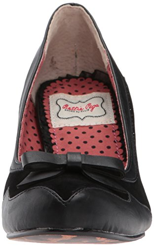 Bettie Page Womens Bp310-jolie Spectator Pump Nero