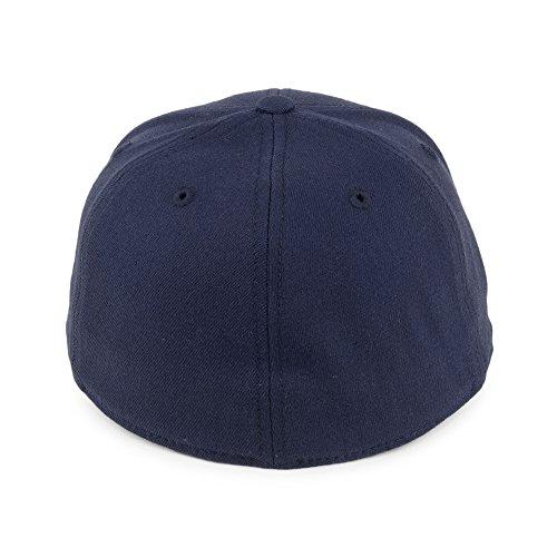 Marino Azul plana de béisbol visera Gorra Azul Marino Flexfit de FzwaB