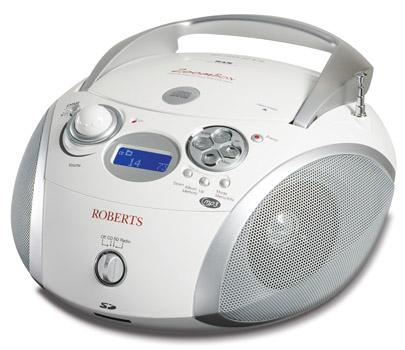 roberts zoombox2 dab dab fm sd usb radio with cd player. Black Bedroom Furniture Sets. Home Design Ideas