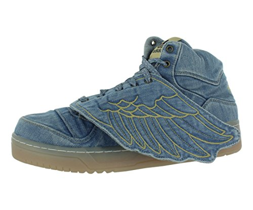 Adidas JS Wings Denim Mens Athletic Shoes V24621 Supplicol,whtvapour,black1