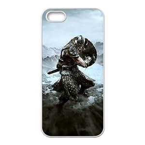 The Elder Scrolls V Skyrim iPhone 4 4s Cell Phone Case White Tribute gift pxr006-3908028