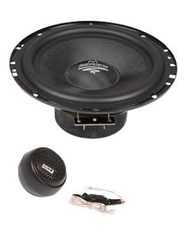 Audio SYSTEM MX 165 Speaker Mercedes C-Class W204 2007 Onwards Front