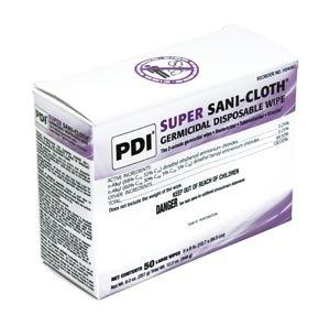 PDI Sani-Cloth Plus Disinfectant , Large, 5