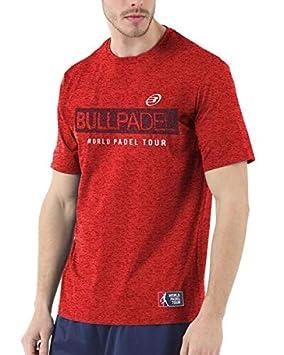 Bull padel Camiseta BULLPADEL ZAMANI Rojo: Amazon.es: Deportes y aire libre