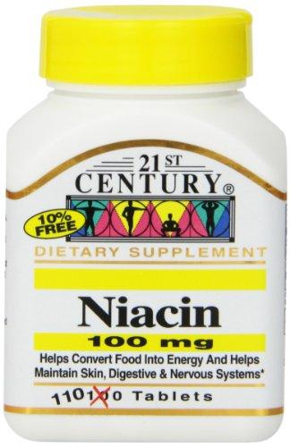 21e siècle niacine comprimés,