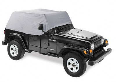 - Pavement Ends by Bestop 41729-09 Charcoal Canopy Cover for 1997-2006 Wrangler TJ (except Unlimited)