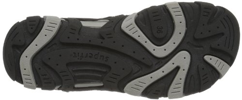 Superfit Hike - Zapatos de pulsera Unisex adulto Negro - negro