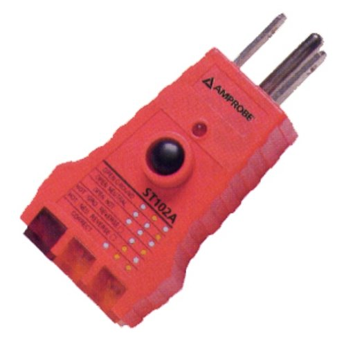 - Amprobe ST102A Socket Tester with GFCI