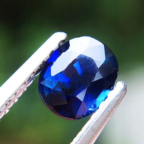 Lovemom 0.67ct Natural Oval Unheated Blue Sapphire Madagascar #W by Lovemom (Image #3)