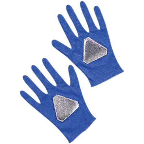 Child's Blue Power Ranger Costume (Child Blue Ranger Gloves)