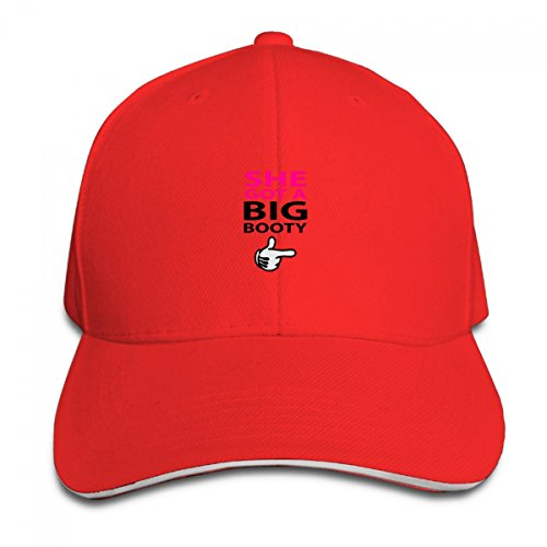 She Got A Big Booty Logo Adjustable Casquette Baseball Hip Hop Cap - Boston Mall Shopping