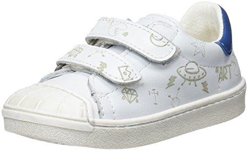 art Kids Jungen A164s Star White/Sidney Sneakers Elfenbein (White)