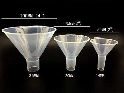 SEOH 50mm Polypropylene Plastic Powder Funnel