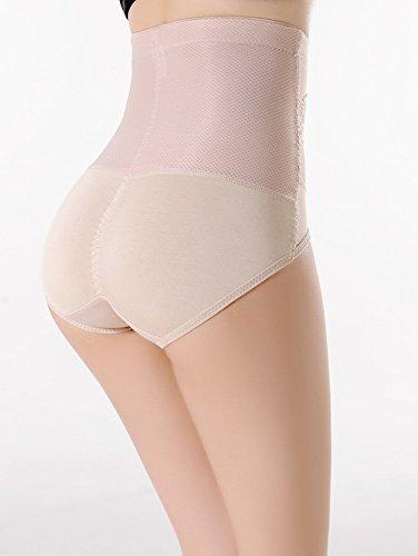 ... RIEMTEX Shapewear Damen Miederhose Bauchweg Unterwäsche Body Shaper  Dessous Taillenslip Beige Hautfarben - Bitte RiemTEX Größentabelle