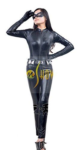 Mtxc Women's Batman: The Dark Knight Rises Cosplay Costume Catwoman Full Set Size X-Small (Batman Catwoman Cosplay Costume)
