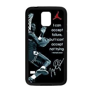 CTSLR Michael Jordan Hard Case Cover Skin for Samsung Galaxy S5-1 Pack -4
