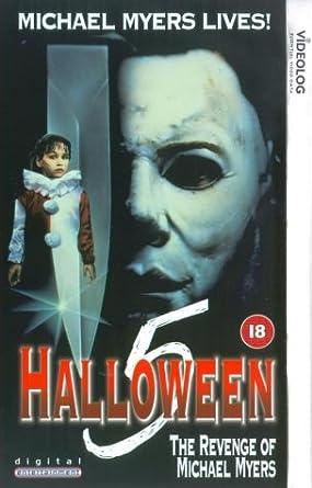 Halloween 5 - The Revenge Of Michael Myers [VHS]: Donald Pleasence ...