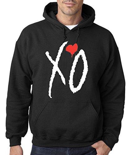 New Way 189 - Hoodie XO The Weeknd Unisex Pullover Sweatshirt Small Black