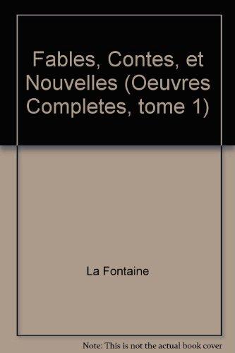 Oeuvres Completes Contes Et Nouvelles Tome 1 [Pdf/ePub] eBook