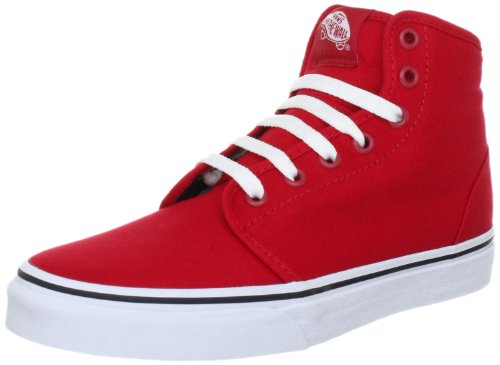Busjes Unisex 106 Hi Rood / True White Skate Shoe 6 Heren Ons / 7.5 Women Us