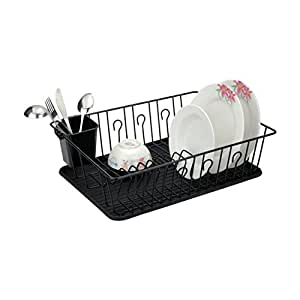 Better Chef DR-1603 16-Inch Dish Rack Black Home & Garden