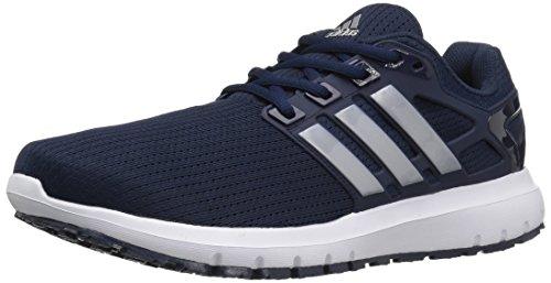 adidas Performance Men's Energy Cloud Wtc m Running Shoe, Collegiate Navy/Metallic/Silver/Black, 10.5 M US