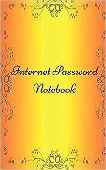 Internet Password Organizer: Password Book & Password Journal keep track webpage, username, and password (Volume 8)