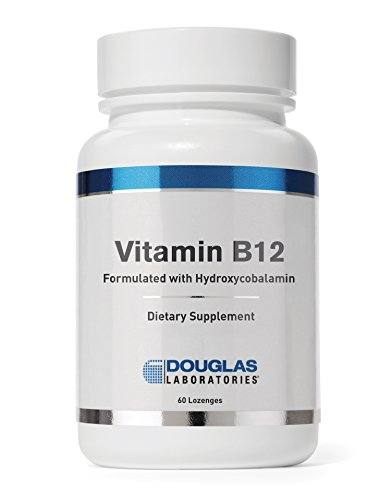 Douglas Laboratories - Vitamin B12 - Formulated with Hydroxycobalamin for 2,500 mcg. of Pure Vitamin B12 in a Rapidly Dissolving Tablet - 60 Lozenges