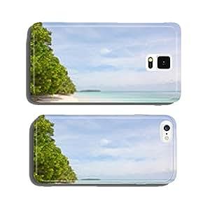 Beach on Zapatilla island, Bocas del Toro, Panama cell phone cover case iPhone6 Plus