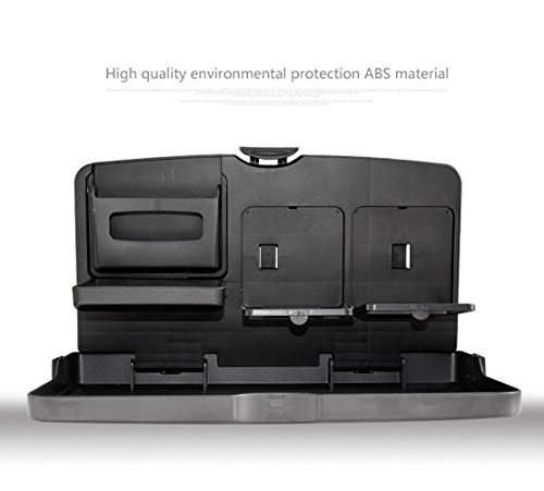 MQYH@ Multipurpose Car Tray - Car Seat Activity & Snack Tray for A More Convenient Time in Your Car Black by MQYH@ (Image #7)