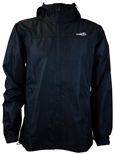 - Avalanche Men's Linear Jacket, Black - Medium