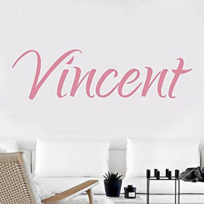 Decorson Home Custom Name Wall Sticker Personalized Nursery Room Decoration Decal: Arts, Crafts & Sewing