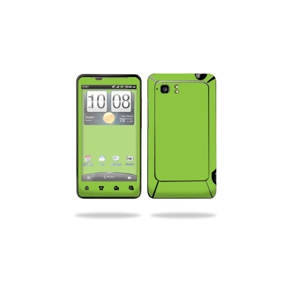 Mightyskins Protective Vinyl Skin Decal Cover for HTC Vivid 4G PH39100 B AT&T Cell Phone wrap sticker skins Solid Green