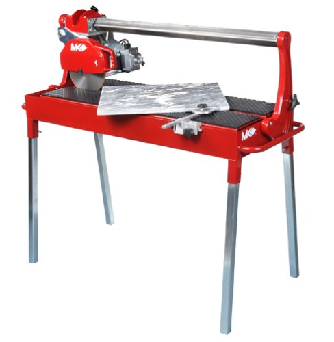 10' Stone Saw - MK Diamond 159414 MK-212-4 Wet Cutting Tile and Stone Saw