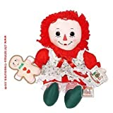 16 Inch Raggedy Ann Holiday Christmas Doll by Russ