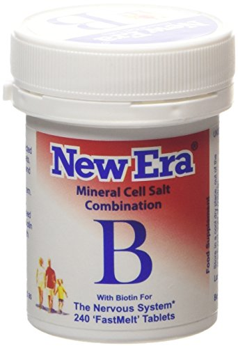 New Era COMBINATION B Mineral Cell Salts 240 Tablets (TISSUE SALTS) NERVOUS SYSTEM ()