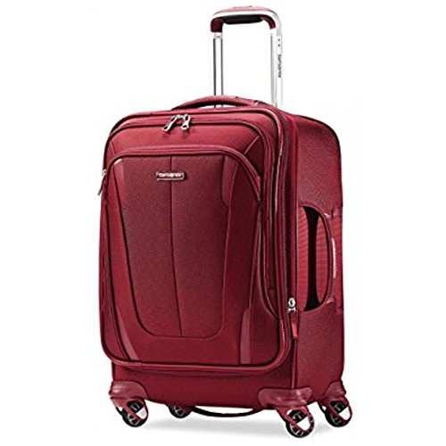 Samsonite Silhouette Sphere 2 Softside 21 Inch Spinner (One Size, Ruby Red) by Samsonite