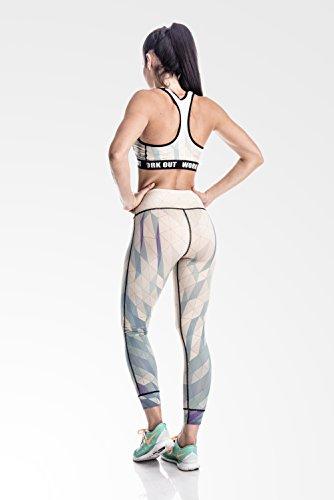 Fringoo - Medias deportivas - para mujer BEIGE yoga