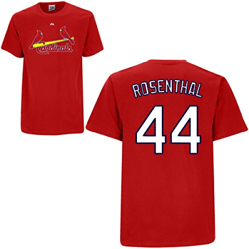 Trevor Rosenthal St. Louis Cardinals Red Player T-Shirt by Majestic Select Size: Large