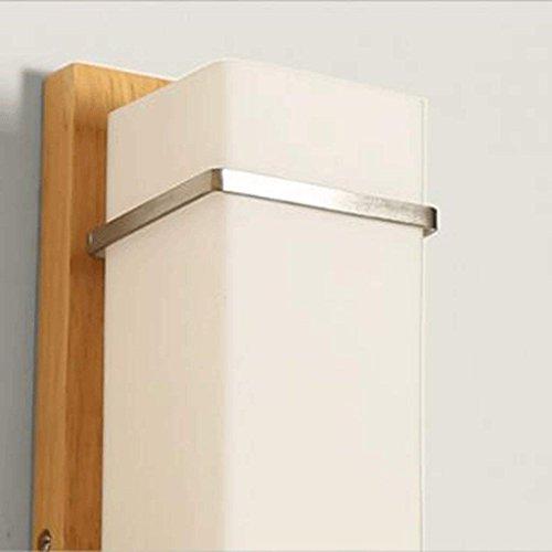 Lampe Bois Salon Chevet Haizhen Moderne Sciage De Simple WHID9E2eY