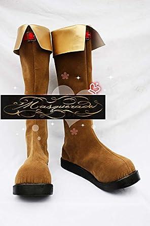 ゼルダの伝説 リンク The Legend of Zelda コスプレ靴 コスプレブーツ オーダーサイズ製作可能