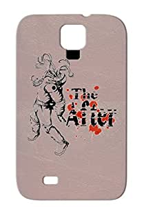THE AFTER SQUID Music Rock Metal For Sumsang Galaxy S4 Silver TPU Case