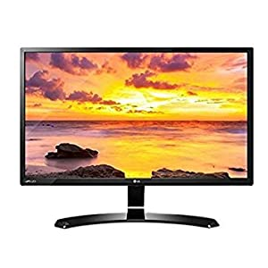 """2018 LG 32"""" Full HD IPS 1920 x 1080 LED 16:9 Widescreen Monitor with VESA Wall-Mount, Screen Split 2.0, On-Screen Control, Reader Mode, Picture Model, Display Port, HDMI, D-Sub, USB 2.0, Black"""