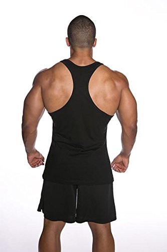 9d0431933041c Mens Gainzzz Are Real Racerback Stringer Tee Tank Top Cotton T Shirt ...