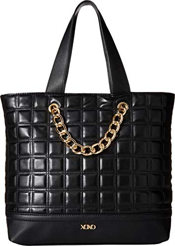 XOXO Womens Off the Grid Tote Black One Size