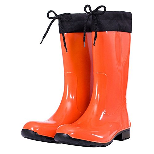 Tamaño Cardiff KREXUS 42 de Agua B 36 para Mujer naranja Botas xpqY7B