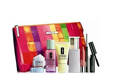 Clinique 8 Pieces Makeup & Skincare Gift Set 2015 Spring