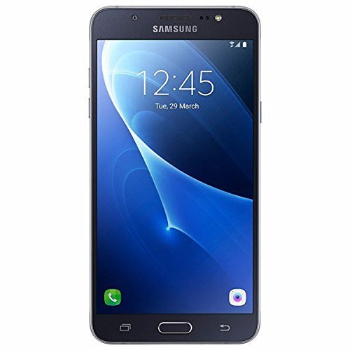 "Samsung Galaxy J7 LTE (2016) J710M/DS 16GB - 5.5"" Dual SIM Factory Unlocked Phone (Black) - International Version"