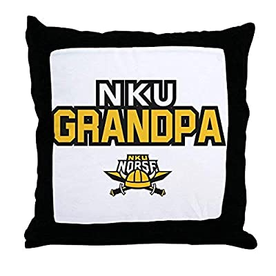 FiuFgyt Northern Kentucky NKU Norse Grandpa Canvas Throw Pillow Cover Girls Sofa Cushion Covers 18 x 18