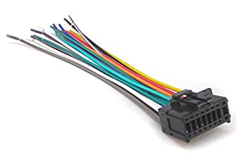 41DCSLiaNHL._SX355_ amazon com mobilistics wire harness fits pioneer avh x2700bs, avh wiring harness pioneer deh 14ub at n-0.co